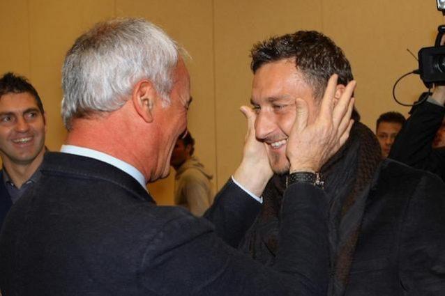 Ranieri, Totti forse meritava di entrare