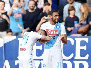 """Napoli, Ghoulam: """"Non molliamo, vogliamo il 2° posto"""""""