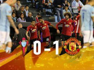 Europa League, Mou vince la prima: lo United batte il Celta e avvicina la finale