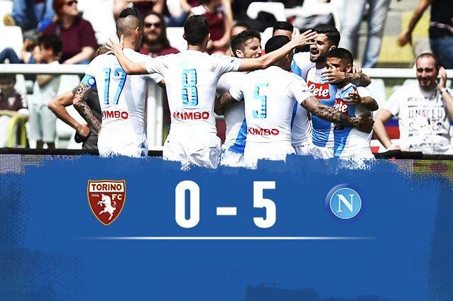 Napoli: eguagliato il record di gol della Juve, ha segnato di più senza Higuain