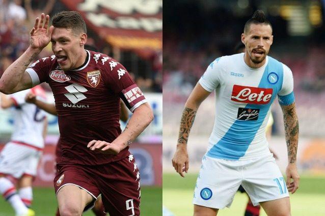Torino-Napoli è in programma domenica 14 maggio (Getty).