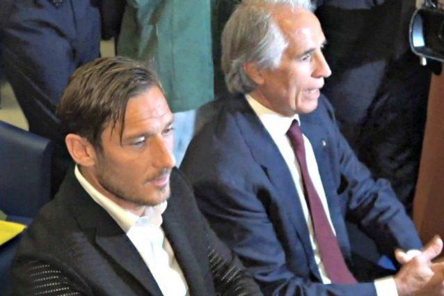 Roma, Totti misterioso sul suo futuro: