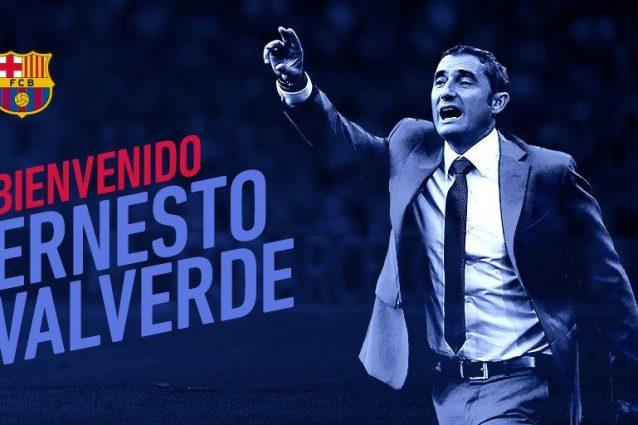 Valverde è il nuovo allenatore del Barcellona
