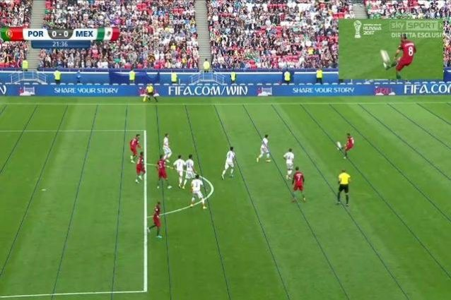 Confederations:Portogallo no gol con Var