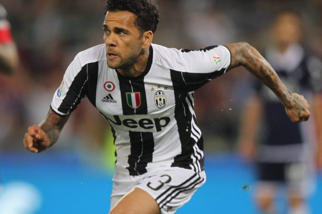 Juve-Real: la conferenza stampa di Allegri, Buffon e Dani Alves
