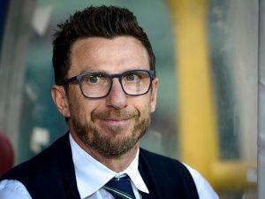 La Roma presenta Di Francesco e Monchi ferma le partenze di Salah e Rudiger