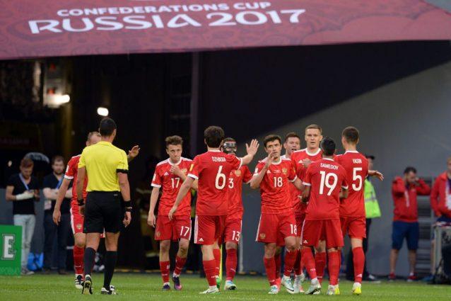 Confederations Cup, Russia esordio ok. Battuta 2-0 la Nuova Zelanda