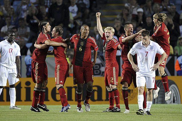La sconfitta in finale contro la Germania nell'Europeo 2009 in Svezia