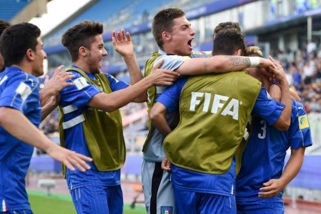 Under 20, semifinale Italia-Inghilterra in diretta su Rai Sport