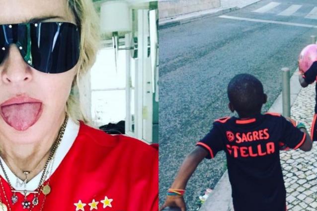 David Banda, il figlio di Madonna, preso nelle giovanili del Benfica