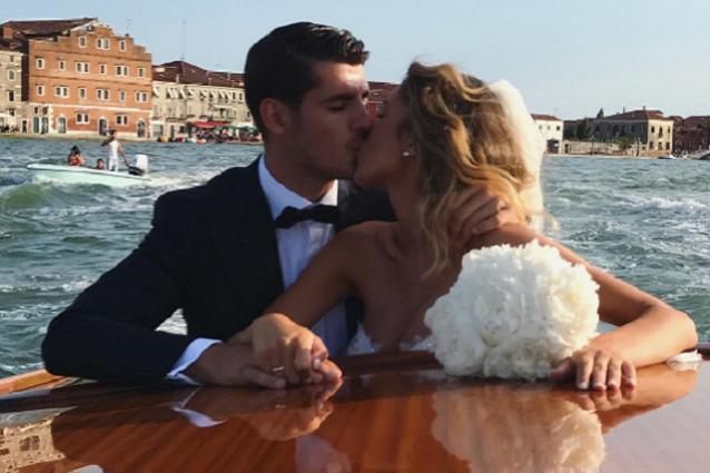 Morata convola a nozze con la bella Alice: cerimonia blindata, le foto solo sui social