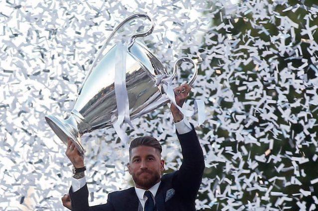 """Sergio Ramos: """"Juve? No, impressionato dal Napoli"""". Ma è un fake"""