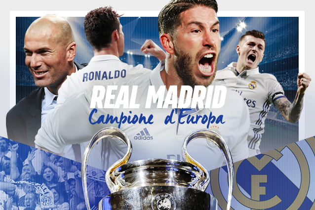 Real campione d'Europa, Juventus battuta 4-1