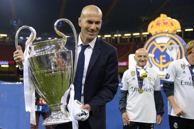 Zidane l'uomo delle ultime 4 Champions League del Real Madrid