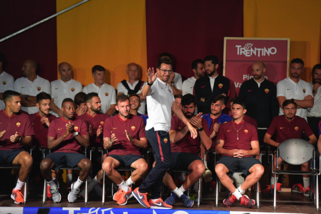 """Roma, Di Francesco: """"Il mio obiettivo era allenare qui"""""""