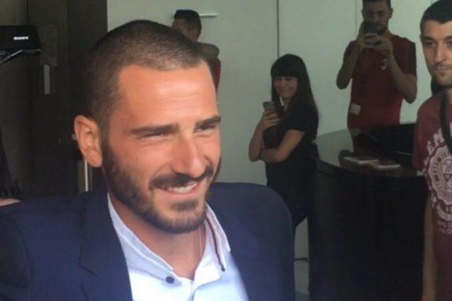 """Calciomercato, Capitan Bonucci chiama Morata: """"Vieni al Milan anche tu"""""""