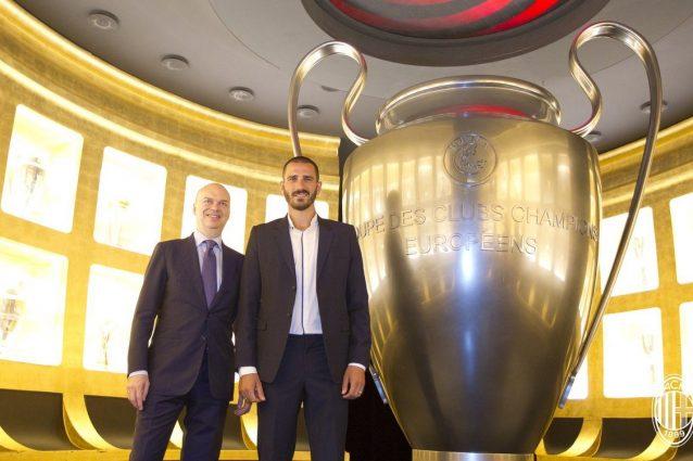Calciomercato Milan: ufficiale l'acquisto di Leonardo Bonucci