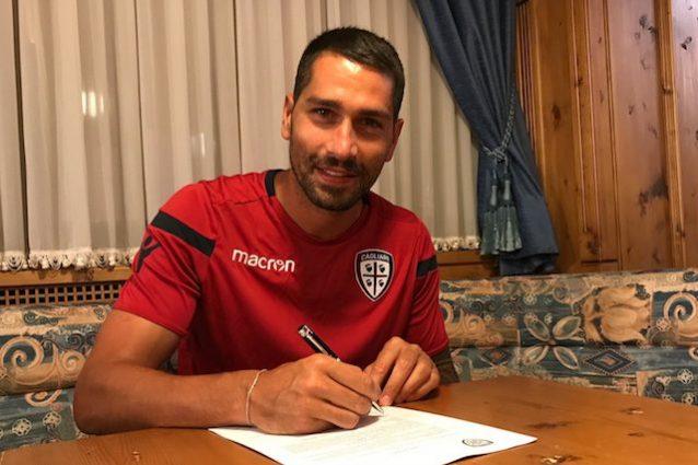 Mercato Cagliari, Borriello rinnova: è ufficiale