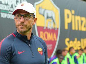 Roma, prima vittoria per Di Francesco: 8-0 contro il Pinzolo