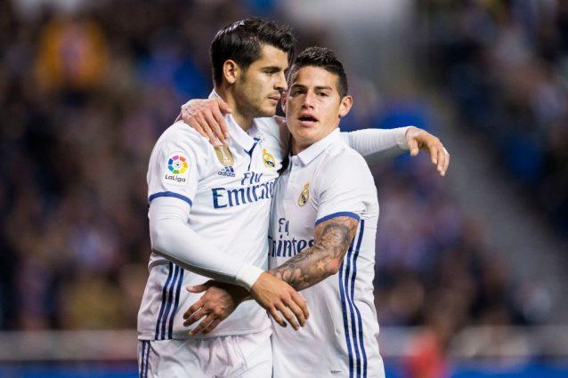 Chelsea, il Real offre Morata e James Rodriguez per 150 milioni di euro