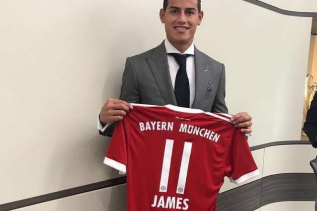 Ufficiale: il Bayern Monaco ingaggia James Rodriguez dal Real Madrid