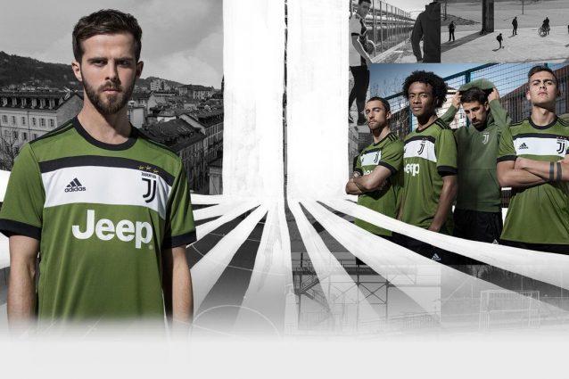La terza maglia della Juventus è verde militare: confermate le indiscrezioni