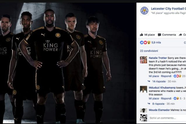 Leicester, non c'è Mahrez nella foto su Facebook. La Roma ci prova: Monchi alza l'offerta