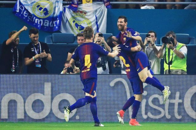 Messi incanta il Barcellona batte il Real 3-2 e vince l'International Champions Cup 2017