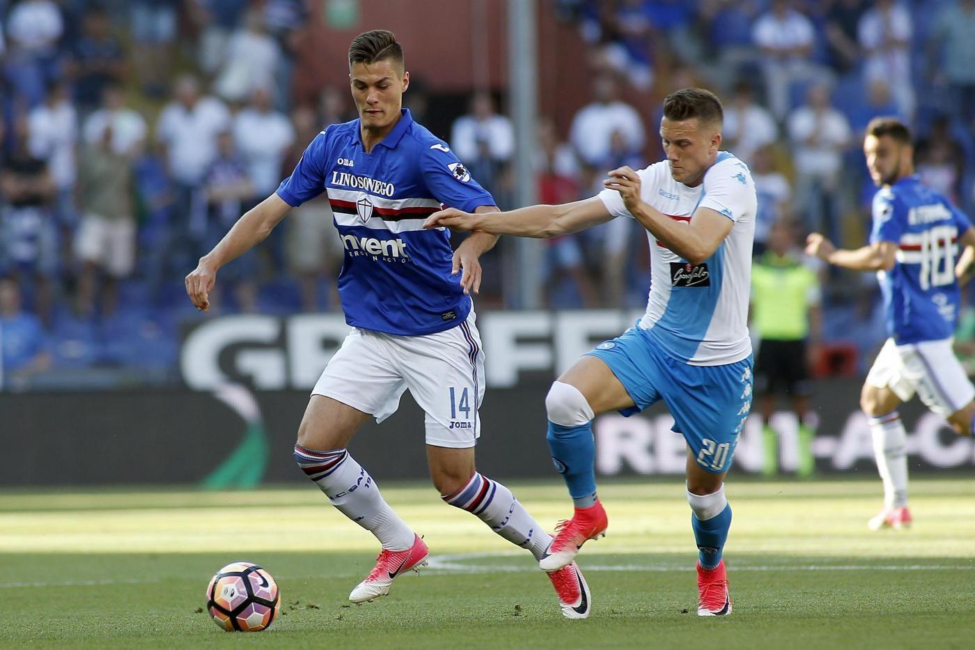Sampdoria ultime notizie schick tolto dal mercato for Ultime notizie dal parlamento italiano