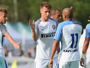 L'Inter in campo a Brunico – Fonte: Twitter Inter Fc