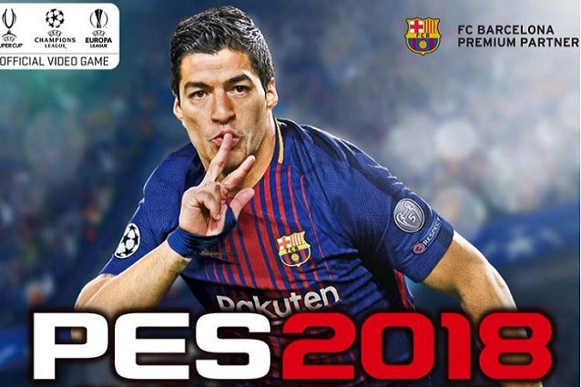 Luis Suárez sarà il testimonial di PES 2018