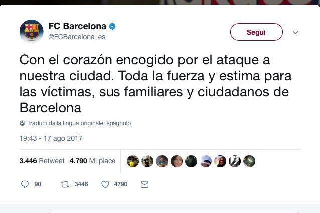 Barcellona, forse italiano fra vittime