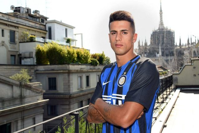 Inter, Dalbert si presenta ai tifosi: