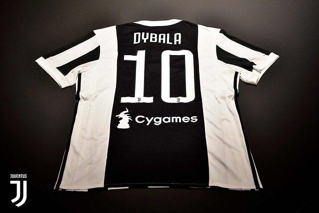 Juventus, ufficiale: la '10' è di Paulo Dybala