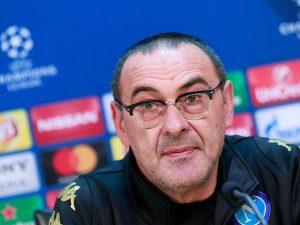 """Napoli, Sarri: """"Nizza pericoloso, ma squadra e città meritano la Champions"""""""