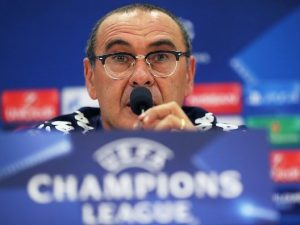 """Champions League, Sarri: """"Napoli dimentica l'andata. Balotelli e Sneijder? Vanno fermati"""""""