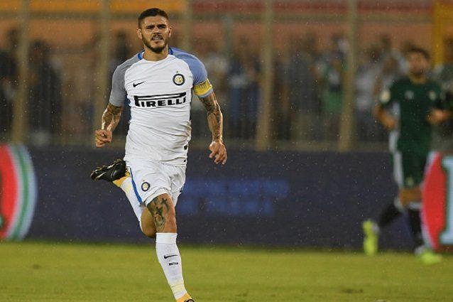 Mauro Icardi dal dischetto: l'Inter col Betis vince anche l'ultima amichevole