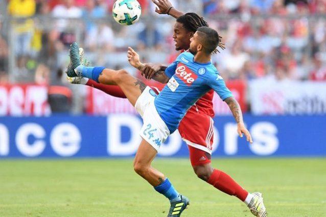 Audi Cup. Cinico e concentrato il Napoli batte il Bayern per 2-0