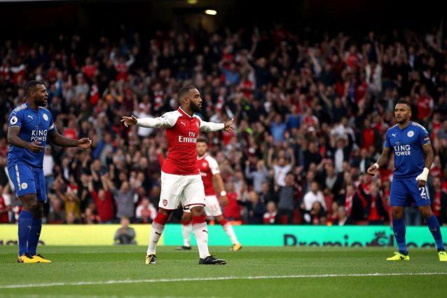 Arsenal-Leicester 4-3