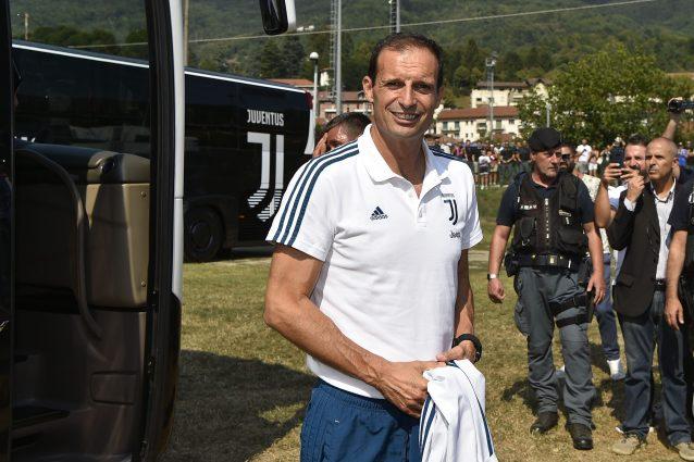 """Juventus, Allegri: """"Noi favoriti? Solo senza presunzione"""""""