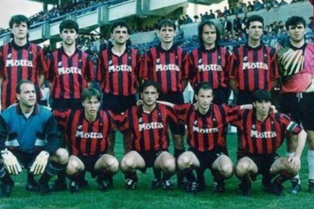 Nel 1994 lo Shkendija indossò la maglia ufficiale del Milan