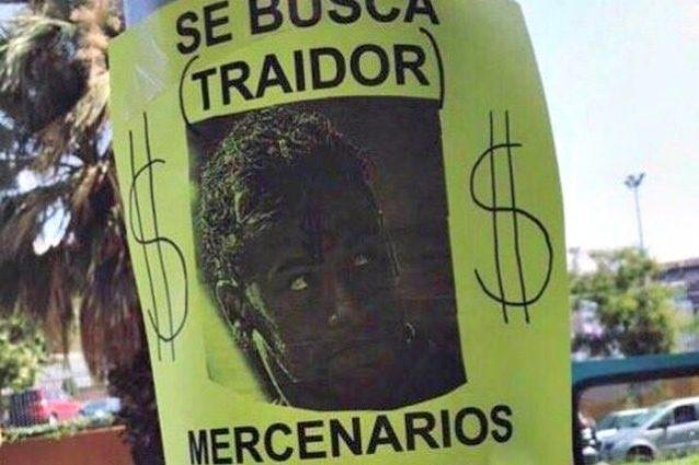 """Il volantino dei tifosi: """"Neymar traditore e mercenario, vattene da Barcellona"""""""