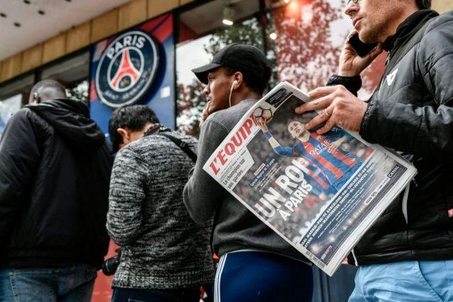 neymar psg mercato