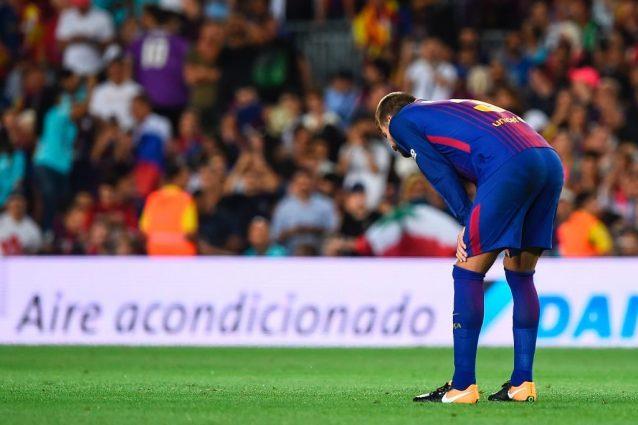 Barcellona, l'ammissione di Piquè: