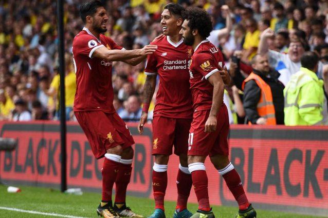 Okaka e Britos fermano il Liverpool di Salah, nel finale il Watford segna il 3-3