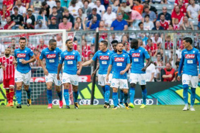 Il Napoli batte il Bayern Monaco 2-0 ed è 3° nell'Audi Cup