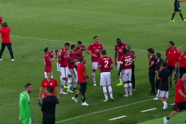 Cooling Break in Real-United