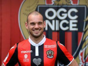 """Nizza, Sneijder all'attacco: """"Voglio la qualificazione in Champions"""""""
