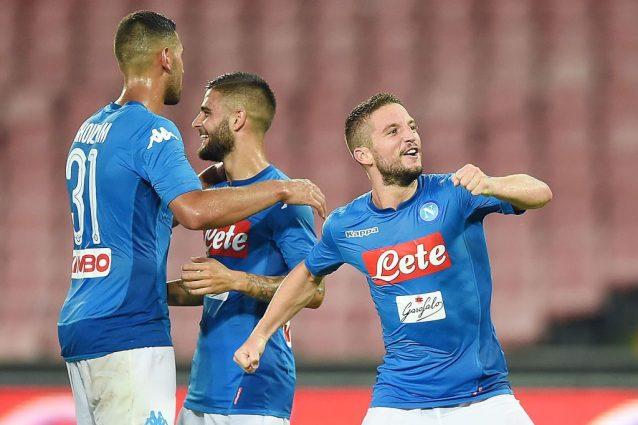 Napoli bello di notte, domina l'Espanyol e lancia la sfida al Nizza