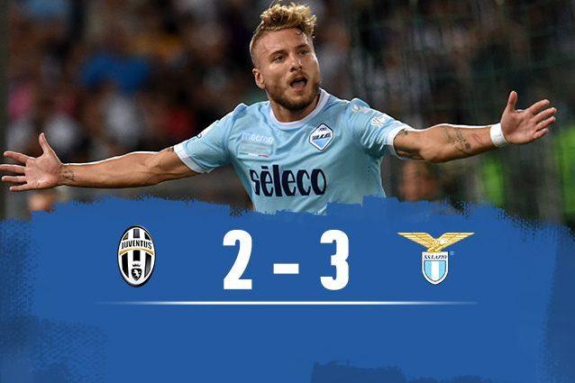 Murgia al 94esimo: la Lazio vince la Supercoppa e fa piangere la Juventus